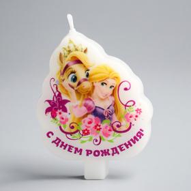 Свеча в торт Дисней 'С Днем Рождения', Принцессы Ош