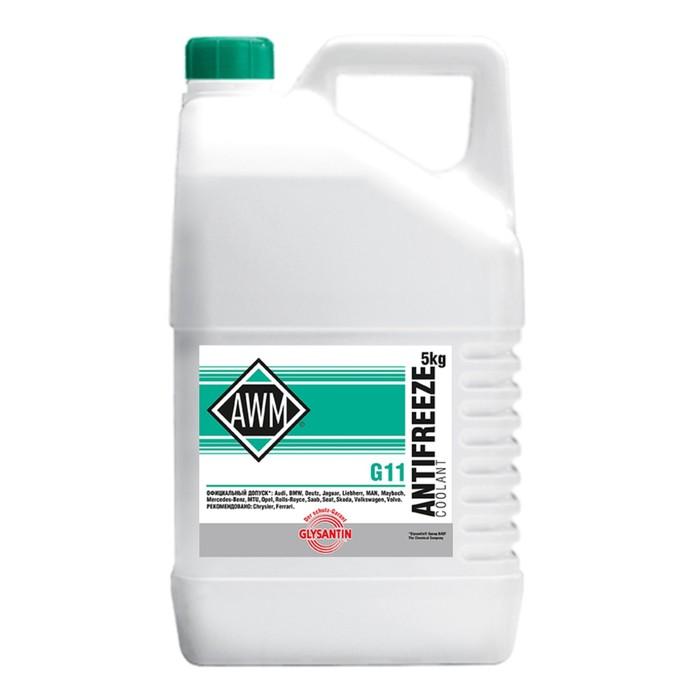Антифриз AWM11/ Glysantin BASF G 48 Ready Mix, 5 кг