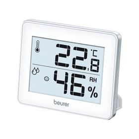 Термогигрометр Beurer HM16, цифровой, комнатный, 1хCR2025, белый