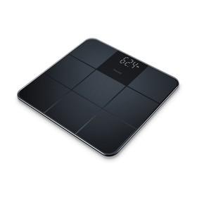 Весы напольные Beurer GS235, электронные, до 180 кг, стекло, чёрные