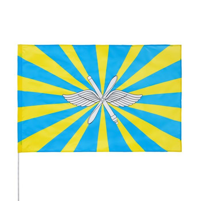 Флаг ВВС, 90х150 см, полиэстер