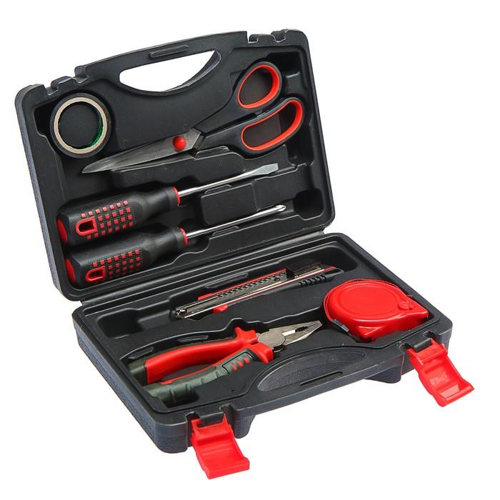 Набор инструментов в кейсе TUNDRA, универсальный, 7 предметов