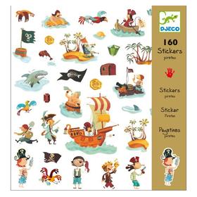 Набор наклеек «Пираты», 160 шт
