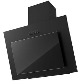 Вытяжка KRONA FREYA 600 BLACK PB, наклонная, 550 м3/ч, 3 скорости, 60 см, чёрная
