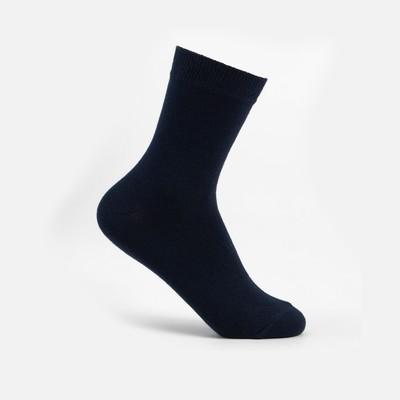 Носки детские, цвет тёмно-синий, размер 16-18