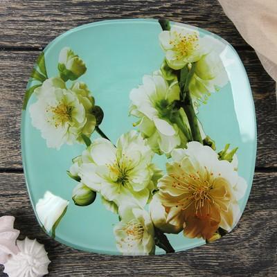 Тарелка десертная Доляна «Весенний вальс», d=20 см - Фото 1