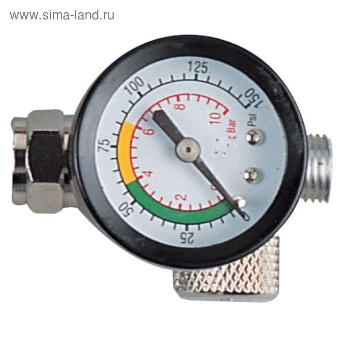 """Регулятор воздуха Jonnesway  ACC-609, с манометром для """"Краскопульта"""""""