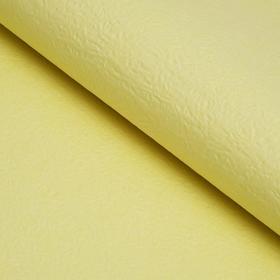 Бумага упаковочная рельефная, ярко-жёлтый, 64 х 64 см Ош