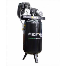 Компрессор WIEDERKRAFT WDK-91554, воздушный, вертикальный, 150 л, 541 л/мин, 1200 об/мин