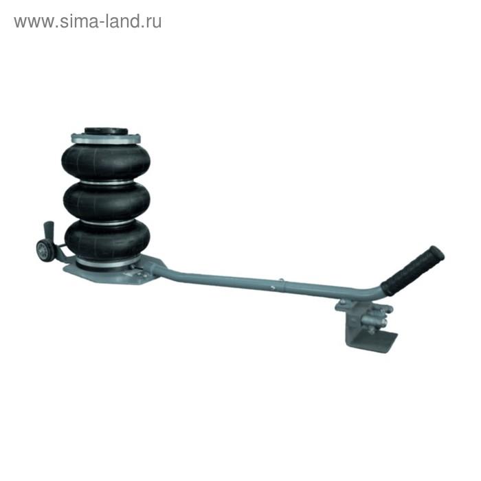 Домкрат WIEDERKRAFT WDK-81813, пневматический подкатной, 2 т, 125-400 мм, 2-6 бар