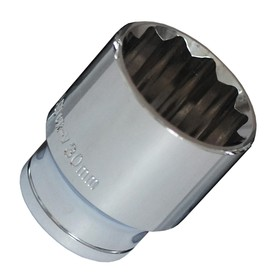 "Головка торцевая Bovidix 5040323, 1/2"", 30 мм, 12 граней, Cr-V"