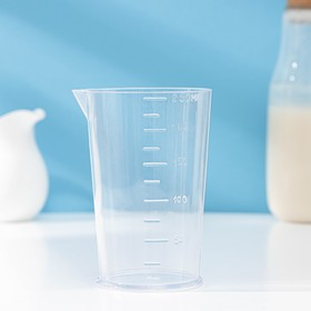 Мерный стакан Darel plastic, 250 мл, цвет прозрачный