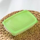 Набор контейнеров «Трио», 3 шт, 700 мл, цвет МИКС - Фото 4