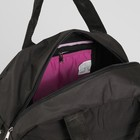 Сумка спортивная, отдел на молнии, наружный карман, цвет чёрный - Фото 5