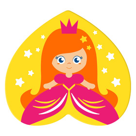 Мини-коврик для ванны на присосках «Принцесса» Ош