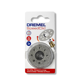 Диск алмазный отрезной Dremel 2615S545JB SPEED CLIC, 38 мм