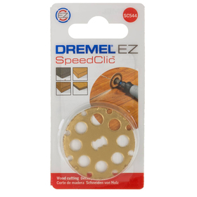 Диск отрезной Dremel EZ SpeedClic 2615S544JB, по дереву, хвостовик 3.2мм, 38мм, 35000об/мин   329042