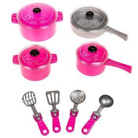 Набор посуды «Кристинка», 12 предметов, МИКС