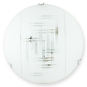 Светильник ZIER 1x60Вт E27 белый 7x25см