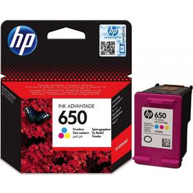 Картридж струйный HP 650 CZ102AE многоцветный для HP DJ IA 2515/2516 (200стр.)