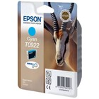 Картридж струйный Epson T0922 голубой для Epson C91/CX4300