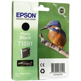 Картридж струйный Epson C13T15914010 фото черный для Epson St Ph R2000 Ош