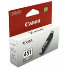 Картридж струйный Canon CLI-451GY 6527B001 серый для Canon Pixma MG6340