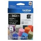 Картридж струйный Brother LC563BK черный для Brother MFC-J2510 (600стр.)
