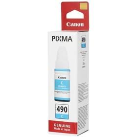 Картридж струйный Canon GI-490C 0664C001 голубой для Canon Pixma G1400/2400/3400 (70мл)