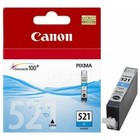 Картридж струйный Canon CLI-521C 2934B004 голубой для Canon iP3600/4600/MP540/620/630/980