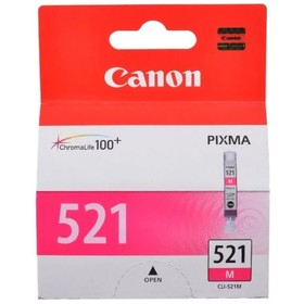 Картридж струйный Canon CLI-521M 2935B004 пурпурный для Canon iP3600/4600/MP540/620/630/980   172483