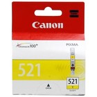 Картридж струйный Canon CLI-521Y 2936B004 желтый для Canon iP3600/4600/4700/MP540/550/560/620/630/64