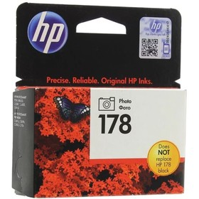 Картридж струйный HP №178 CB317HE фото черный для HP C5383/C6383/B8553/D5463