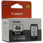 Картридж струйный Canon PG-46 9059B001 черный для Canon Pixma E404/E464 (15мл)