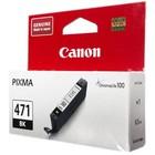 Картридж струйный Canon CLI-471BK 0400C001 черный для Canon MG5740/MG6840/MG7740