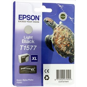 Картридж струйный Epson C13T15774010 серый для Epson St Ph R3000 (850стр.) Ош