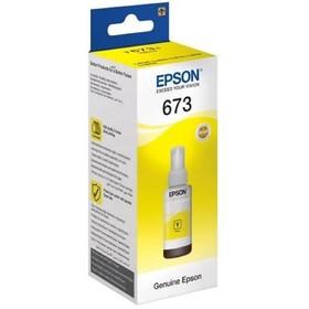 Картридж струйный Epson C13T67344A желтый для Epson L800 (1800стр.)