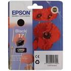 Картридж струйный Epson C13T17014A10 черный для Epson XP33/203/303