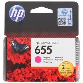 Картридж струйный HP 655 CZ111AE пурпурный для HP DJ IA 3525/4615/4625/5525/6525 (600стр.)