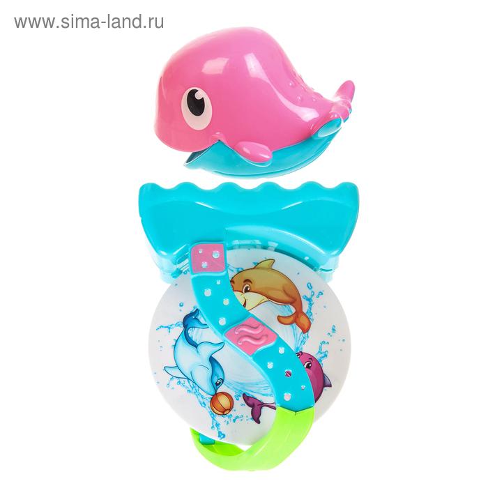 Игрушки для купания «Кит», цвет МИКС, на присоске