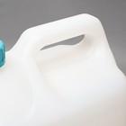 Канистра пищевая, 10 л, диаметр горловины 45 мм, белая - Фото 5
