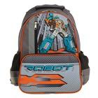 Рюкзак школьный Luris «Степашка», 37 x 26 x 13 см, эргономичная спинка, «Робот»