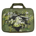 Папка с ручками текстиль А4 370х270х70 мм Luris «Вертолет»