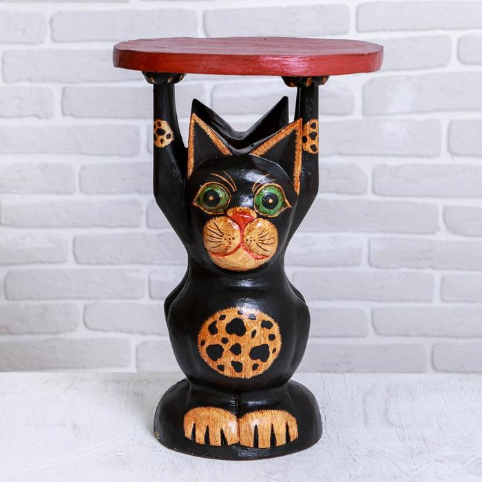 "Интерьерный стульчик ""Котик"" 29х29х40 см"