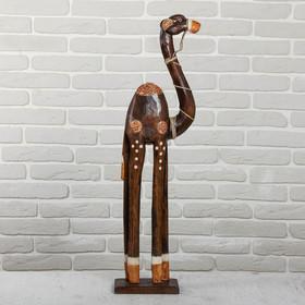 Сувенир дерево 'Верблюд' 21х12х80 см Ош