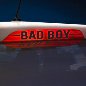 Наклейка на стоп сигнал на заднее стекло BAD BOY