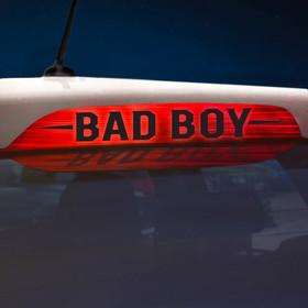 Наклейка на стоп сигнал на заднее стекло BAD BOY Ош