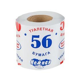 Туалетная бумага «Нежная 56», 1 слой Ош
