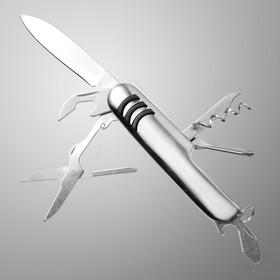 Нож швейцарский Мастер К. 7в1, рукоять, хром Ош