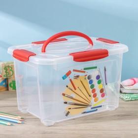 Короб для хранения econova «Детское творчество», 5,5 л Ош